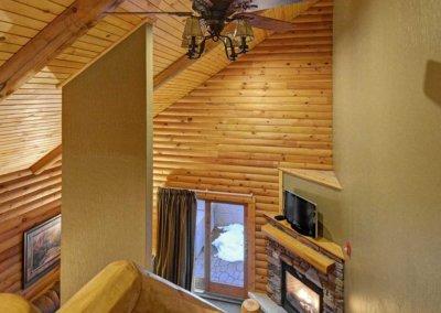 Cabin 45L - Loft View