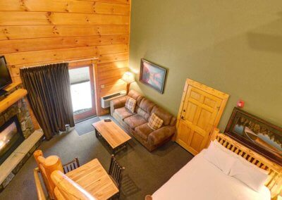 Cabin 46L - Loft View