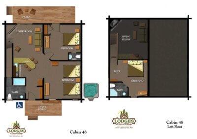 Cabin 48 - Layout