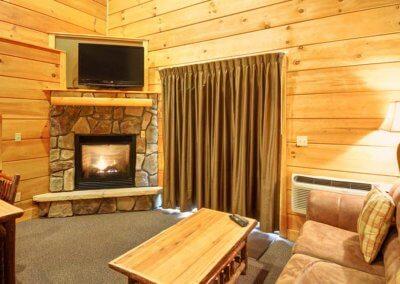 Cabin 46L - Living Area