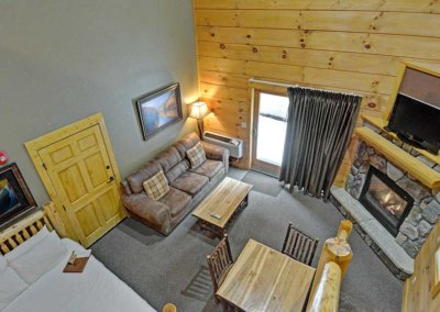 Cabin 46R - Loft View
