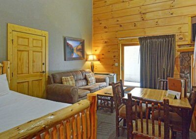 Cabin 46R - Living Area