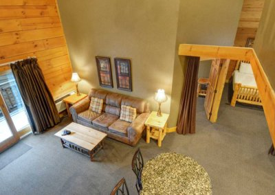 Cabin 48 - Loft View